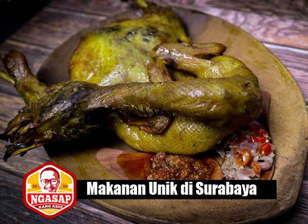 makanan unik di surabaya
