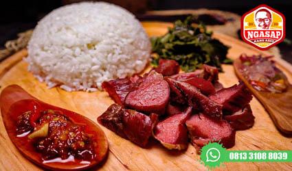 nasi kotak menu daging surabaya
